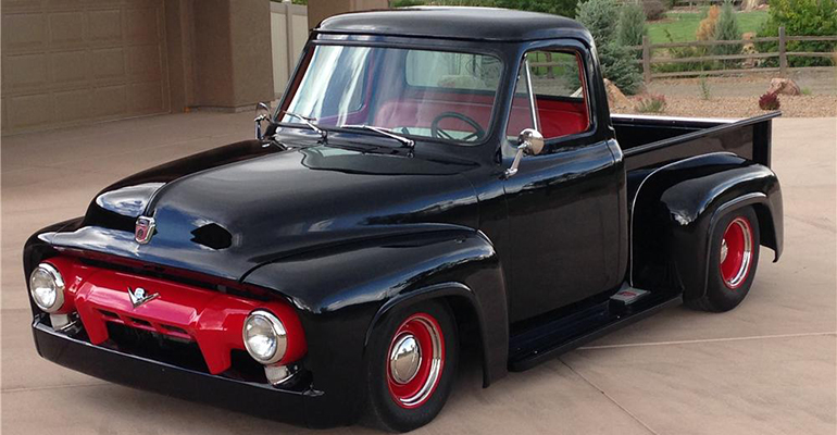 1954 FORD F-100 CUSTOM PICKUP