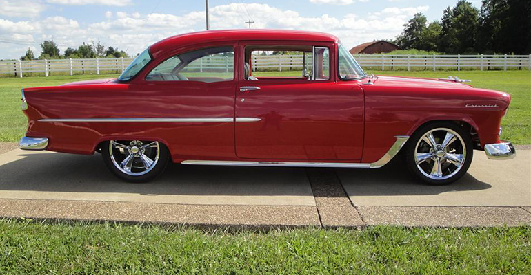 1955 CHEVROLET 150 CUSTOM 2 DOOR