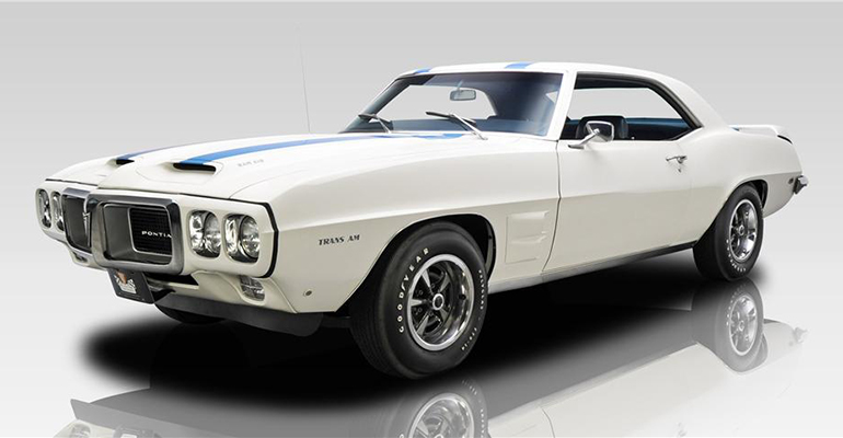 1969 PONTIAC FIREBIRD TRANS AM RAM AIR III 400