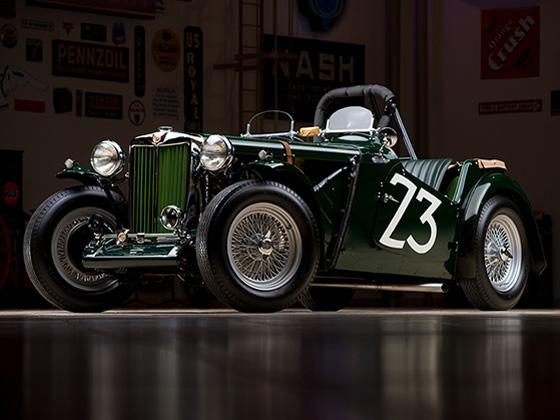 mg tc race car - photo #9
