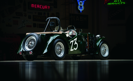1949 MG TC ROADSTER RACE CAR